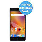 more details on Sim Free ZTE A452 Mobile Phone - Black.