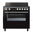 more details on Bush BSC90EB Electric Range Cooker - Black.