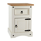 Collection Puerto Rico Bedside Chest - Two Tone Finish