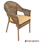 more details on Europa Leisure Bavaria Chair - Pack of 2.