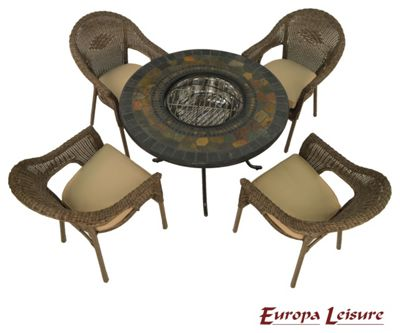 buy europa leisure romano patio set at your. Black Bedroom Furniture Sets. Home Design Ideas