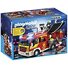more details on Playmobil Fire Engine with Lights and Sounds Playset - 5363.