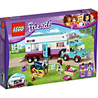 more details on LEGO Friends Horse Vet Trailer Playset- 41125.