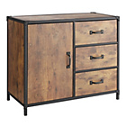 more details on HOME Darren 1 Door 3 Drawer Sideboard.