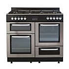 more details on Bush BFCX100DFSS Dual Fuel Range Cooker - Stainless Steel.