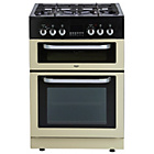 more details on Bush BDFDXS60C Dual Fuel Cooker - Cream.