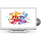 more details on Alba 24 Inch HD Ready LED TV/DVD Combi - White.