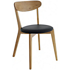 more details on Habitat Sophie Oak and Leather Dining Chair.