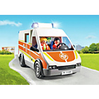 more details on Playmobil Ambulance with Lights and Sounds Playset - 6685.
