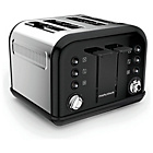 more details on Morphy Richards 242031 Accents Four Slice Toaster - Black.