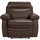more details on Collection New Paolo Power Recliner Chair - Chocolate.