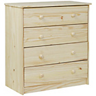 more details on HOME Jakob 4 Drawer Chest - Pine.