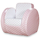 more details on Pink Polka Print Toddler Chair.