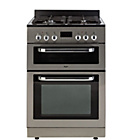 more details on Bush BDFDXS60I Dual Fuel Cooker - Stainless Steel.