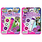 more details on Fairy Unicorn Horse Torch Projector Twin Pack.