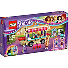 more details on LEGO Friends Amusement Park Hot Dog Van - 41129.