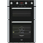 more details on Bush BDOMFF Double Built In Oven - Black.