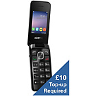 more details on Virgin Alcatel 20.51 Mobile Phone - Silver.