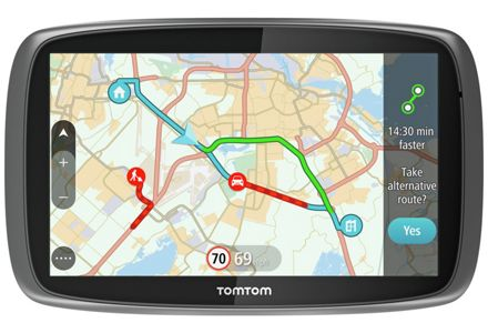 TomTom GO 50 5 Inch Full Europe Lifetime Maps & Traffic