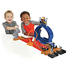 more details on Fisher-Price Blaze and the Monster Machines Monster Playset