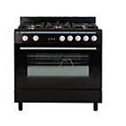 more details on Bush BSC90DFB Dual Fuel Range Cooker - Black.