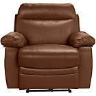 more details on Collection New Paolo Power Recliner Chair - Tan.