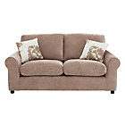 more details on HOME Tessa 2 Seater Fabric Sofa - Mink.
