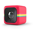 more details on Polaroid Cube+ Action Camera - Red.