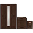 more details on Heart of House Elford 3 Piece Bedroom Package - Oak Effect.