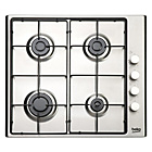 more details on Beko HIZG64120 Gas Hob - Stainless Steel.