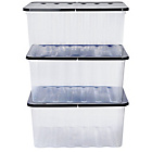 more details on HOME Supa Nova 3 x 48 Litre Lidded Storage Box.