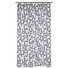 more details on Habitat Mineral Shower Curtain - Grey and White.