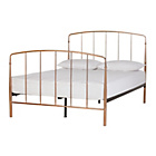 more details on Collection Aurelie Small Double Bed Frame - Rose Gold.