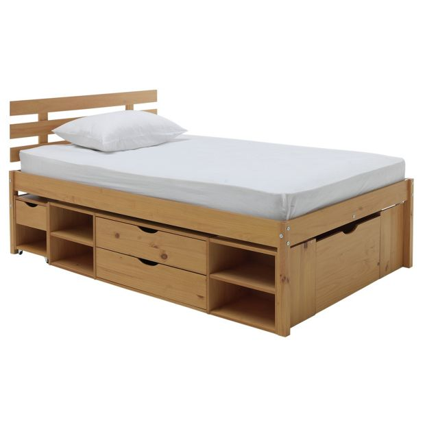 Buy collection ultimate storage ii small double bed frame for Double bed with drawers and mattress