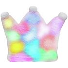 more details on Bright Light Pillow Pink Princess Crown.