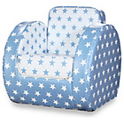 more details on Kit for Kids Blue Star Print Toddler Chair.