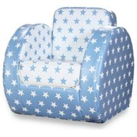 Kit for Kids Blue Star Print Toddler Chair (Blue Star)