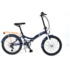 more details on Universal Wayfarer 20 Inch Folding Bike - Navy