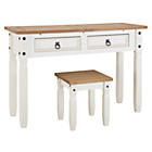 more details on Collection Puerto Rico Dressing Table and Stool - Two Tone.