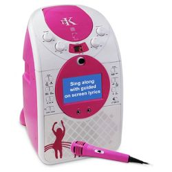 Karaoke B15T 5 in 1 Studio Karoke Machine with Camera (Pink)