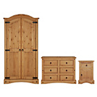 more details on Collection Puerto Rico 3 Piece Bedroom Package - Light Pine