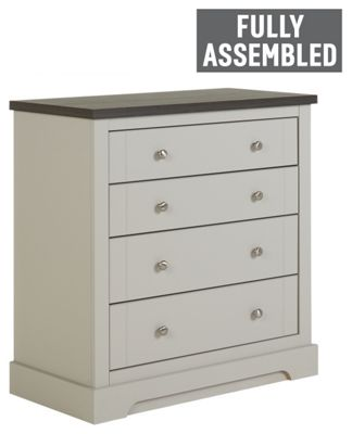 Buy cream chest of drawers at argoscouk your online for White bedroom furniture argos