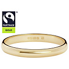 more details on Fairtrade 9ct Yellow Gold 2mm Court‑Shape Wedding Ring.