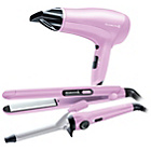 more details on Remington Hair Dryer, Curling Tong & Straighteners Gift Set.