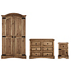 more details on Collection Puerto Rico 3 Piece Bedroom Package - Dark Pine.
