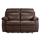 more details on Collection New Paolo 2 Seater Power Recliner Sofa - Choc.