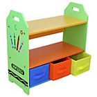 more details on Bebe Style Crayon Shelves and Storage - Green.