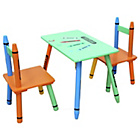 more details on Bebe Style Crayon Table And Chair - Green.
