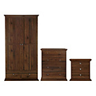 more details on HOME Canterbury 3 Piece Package - Walnut Effect.