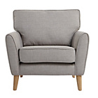 more details on Heart of House Azure Fabric Chair - Light Grey.